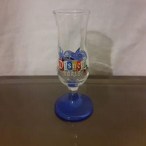 Walt Disney World Blue Shot Glass